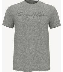 tommy hilfiger essential signature t-shirt grey heather - s
