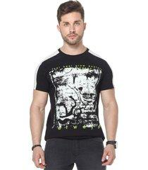 camiseta osmoze 34 recorte 110112801 preto - preto - masculino - dafiti