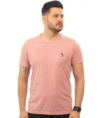 camiseta basica jacquard bi color john pull masculina - masculino