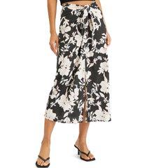 women's sanctuary beach to city midi skirt, size medium - black
