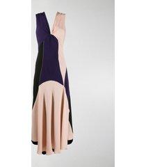colville colour block intarsia dress