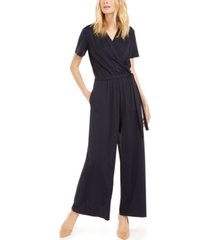 weekend max mara belted surplice jumpsuit