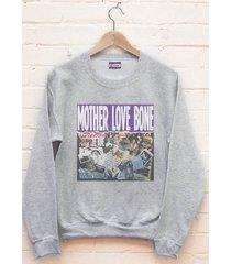 mother love bone | crewneck sweatshirt | light steel