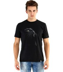 camiseta ouroboros manga curta black cat