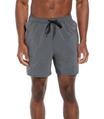 men's tommy bahama naples islandactive swim trunks, size xx-large - black