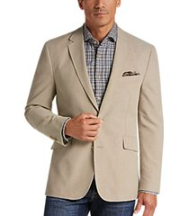 joseph abboud tan modern fit casual coat
