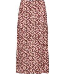 akira knälång kjol rosa mango