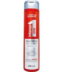 shampoo sulfate free intense one c.kamura 300 ml único