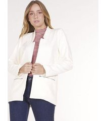 blazer alfaiataria areazul feminino