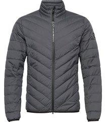 jackets fodrad jacka grå ea7