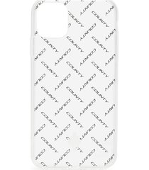 marcelo burlon county of milan logo print iphone 11 case - white