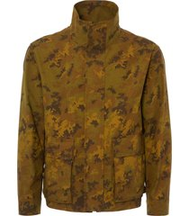 gloverall mustard camo moto jacket ms5145cam