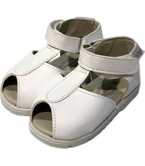 sandalia blanca toot rafia p