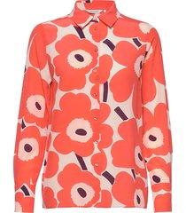 gabro pieni unikko shirt overhemd met lange mouwen multi/patroon marimekko