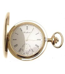mens pocket watches full hunter pocket watch subsidiary seconds dial 1099969