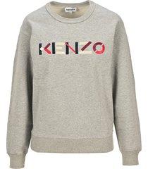 kenzo kenzo logo sweatshirt