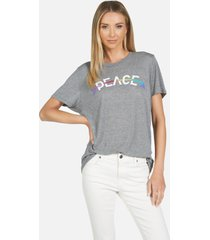 capri peace arrow - heather grey l