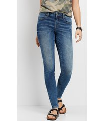 maurices womens denimflex™ marble wash jegging blue