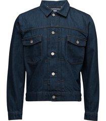 cam clean blue rinse jeansjack denimjack blauw wood wood
