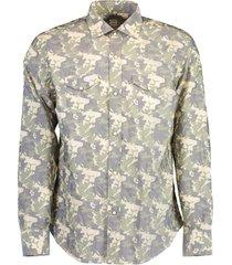 camo western snap sport shirt