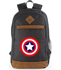 maleta capitán américa, morral, maletín de espalda, bolso
