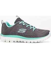 sneaker skechers con memory foam (grigio) - skechers