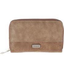 billetera essential marrón humana