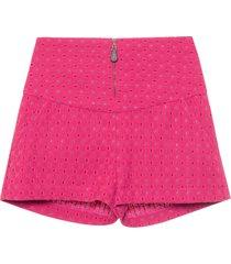 short feminino penélope - rosa