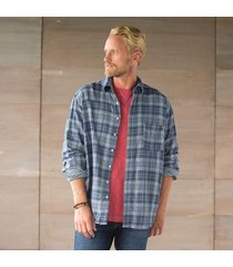 jack plaid shirt - blue