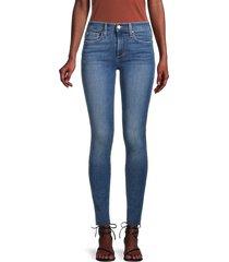 joe's jeans women's mid-rise skinny jeans - blue - size 29 (6-8)