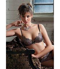 ambra lingerie slips glamorous string roze 1440