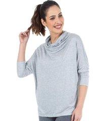 blusa gola ampla mescla- 506.829 marcyn active camisetas fitness multicolorido
