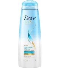 shampoo dove hidratação intensa oxigênio 400ml