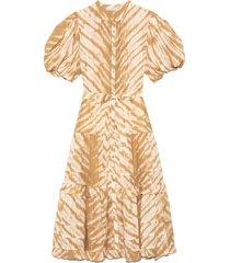 magdalena dress in sand