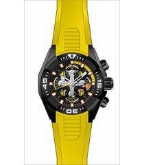 reloj invicta modelo 30321 amarillo hombre