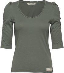 feeling fine top t-shirts & tops long-sleeved groen odd molly