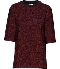 day isik t-shirts & tops short-sleeved rood day birger et mikkelsen