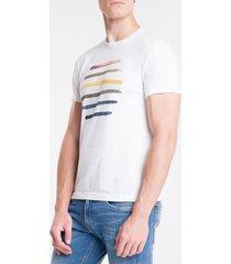 camiseta mc comfort silk genderless prid - branco - m