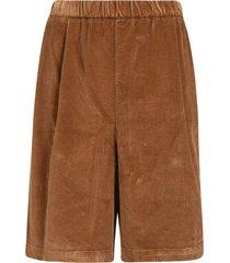 ribbed waist shorts