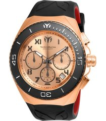 reloj negro technomarine tm-215065 - superbrands