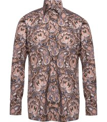 bold paisley print shirt - contemporary fit overhemd casual multi/patroon eton