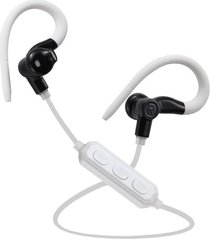 audifonos bluetooth, m1 control de voz audifonos bluetooth manos libres  4.1 auriculares inalámbricos deportivos de ejecución gym auriculares estéreo auriculares de earbud para el teléfono (blanco negro)
