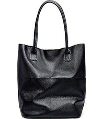 bolsa line store leather sacola shopper n1 bolsos couro azul marinho