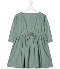 caramel knightsbridge pleated dress - grey