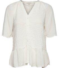 blouses woven blouses short-sleeved vit edc by esprit