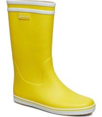 ai malouine jaune/blanc regnstövlar skor gul aigle
