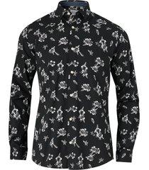 skjorta onsanton ls stretch aop shirt