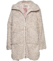 my perfect wrapping jacket outerwear faux fur roze odd molly