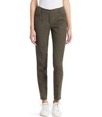 magda cotton silk stretch pants