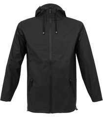 rains breaker black jacket 12300102
